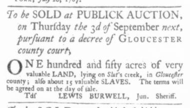 Jul 23 - Virginia Gazette Slavery 3
