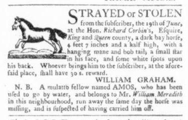 Jul 23 - Virginia Gazette Slavery 4