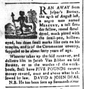 Jul 24 - South-Carolina and American General Gazette Slavery 8