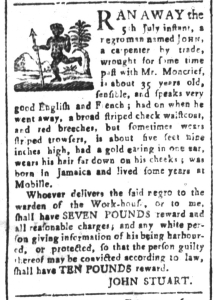 Jul 24 - South-Carolina and American General Gazette Slavery 9
