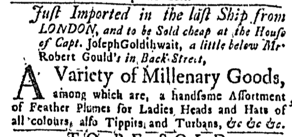 Jul 26 - 7:23:1767 Massachusetts Gazette