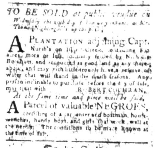 Jul 27 - South Carolina Gazette Slavery 3