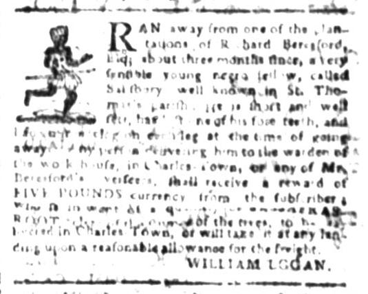 Jul 27 - South Carolina Gazette Slavery 5