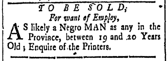 Jul 31 - New-Hampshire Gazette Slavery 2