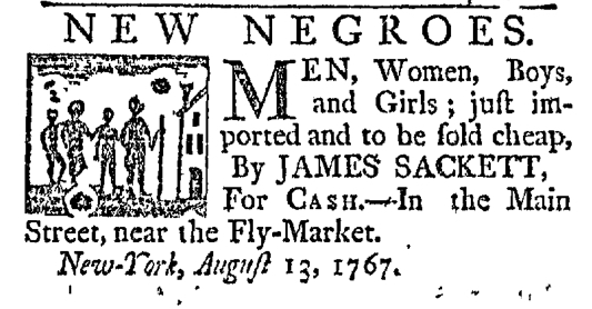 Aug 13 - New-York Journal Slavery 1