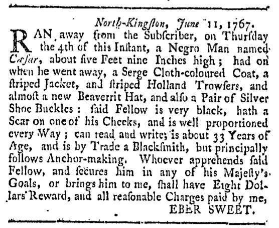 Aug 15 - Providence Gazette Slavery 2