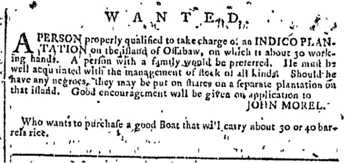 Aug 19 - Georgia Gazette Slavery 4