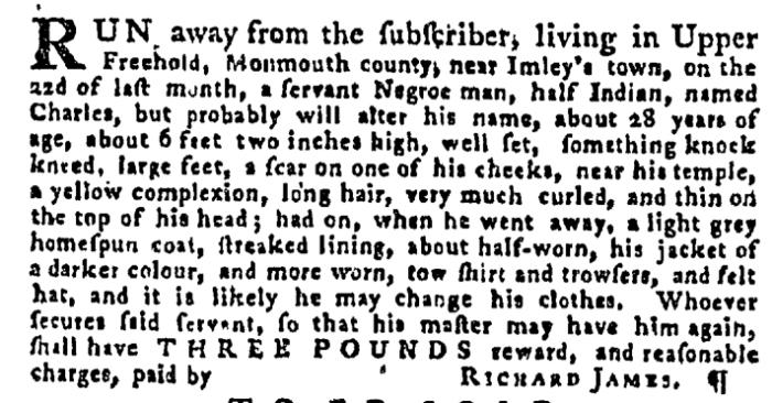 Aug 20 - Pennsylvania Gazette Supplement Slavery 2
