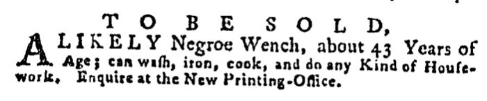 Aug 20 - Pennsylvania Gazette Supplement Slavery 4