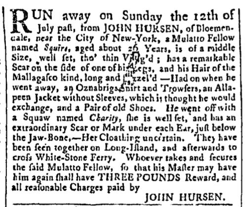 Aug 24 - New-York Gazette Slavery 1