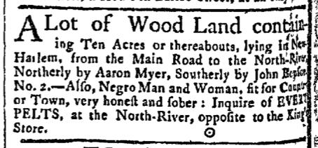 Aug 24 - New-York Gazette Slavery 2