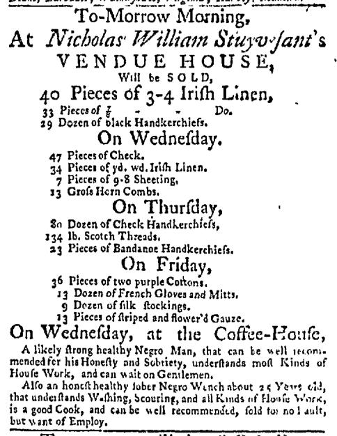 Aug 31 - New-York Mercury Slavery 1