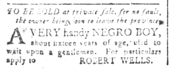 Aug 7 - South-Carolina and American General Gazette Slavery 2