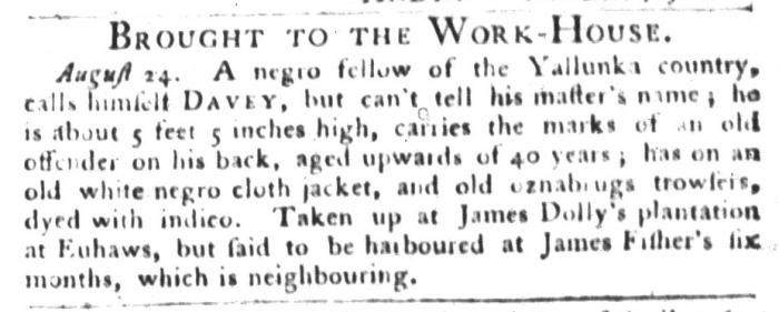 Sep 1 - South-Carolina Gazette and Country Journal Slavery 2