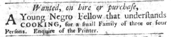 Sep 1 - South-Carolina Gazette and Country Journal Slavery 5
