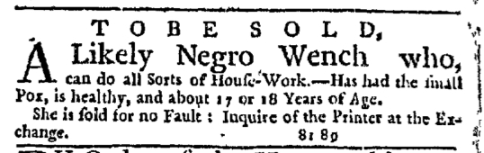 Sep 10 - New-York Journal Supplement Slavery 1