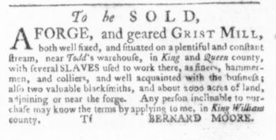 Sep 10 - Virginia Gazette Slavery 3