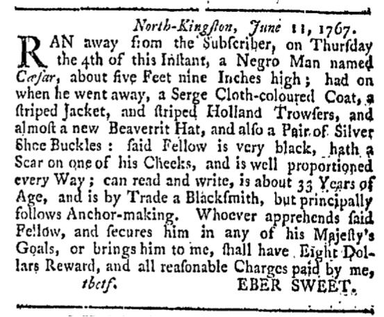 Sep 12 - Providence Gazette Slavery 2