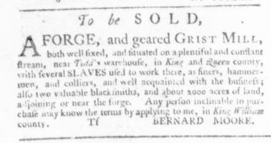 Sep 3 - Virginia Gazette Slavery 4