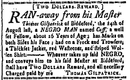 Sep 4 - New-Hamspshire Gazette Slavery 1