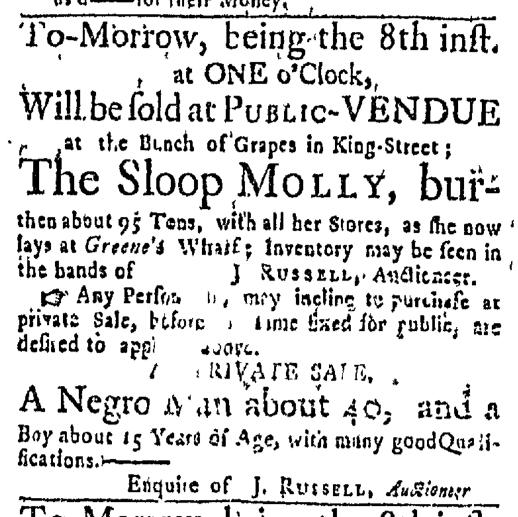 Sep 7 - Boston Post-Boy Slavery 1