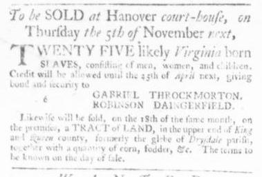 Oct 1 - Virginia Gazette Slavery 3