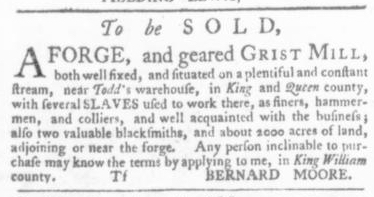 Oct 1 - Virginia Gazette Slavery 7