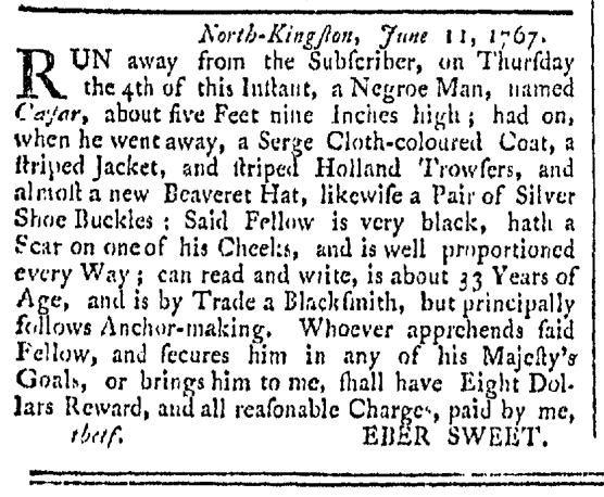 Oct 10 - Providence Gazette Slavery 2