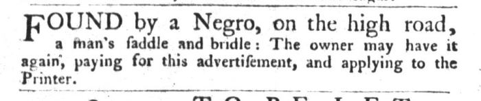 Oct 13 - South-Carolina Gazette and Country Journal Supplement Slavery 7