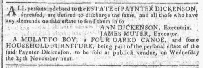 Oct 14 - Georgia Gazette Slavery 2