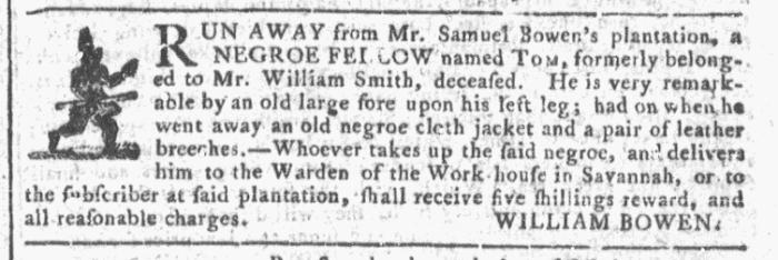 Oct 14 - Georgia Gazette Slavery 5