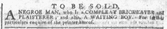 Oct 7 - Georgia Gazette Slavery 6