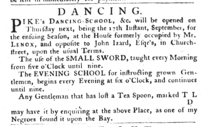 Sep 15 - South-Carolina Gazette and Country Journal Slavery 8