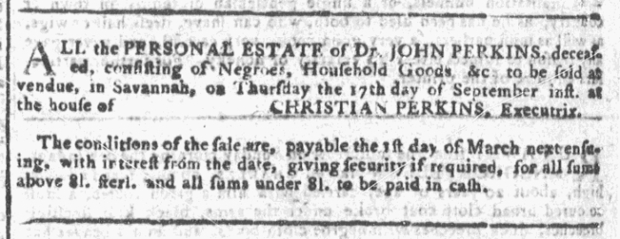 Sep 16 - Georgia Gazette Slavery 9