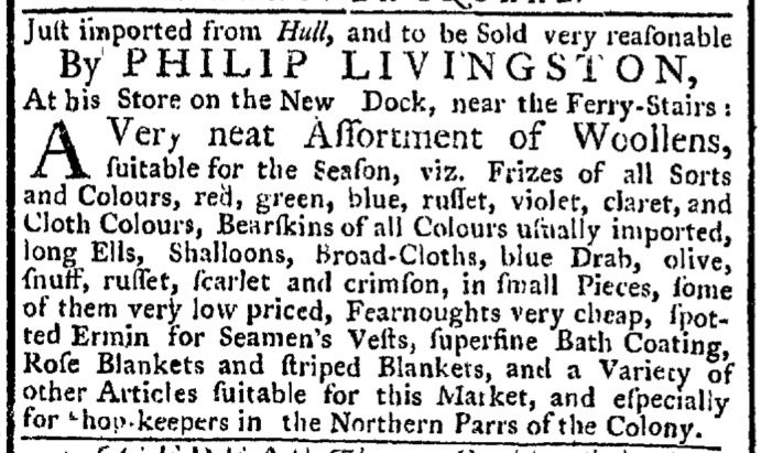 Sep 27 - 9:24:1767 New-York Gazette Weekly Post-Boy