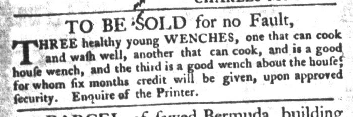 Nov 10 - South-Carolina Gazette and Country Journal Slavery 8