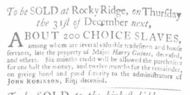Nov 12 - Virginia Gazette Slavery 2