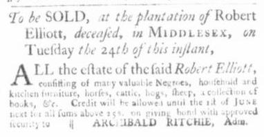 Nov 12 - Virginia Gazette Slavery 4