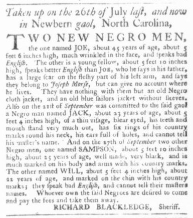 Nov 12 - Virginia Gazette Slavery 5