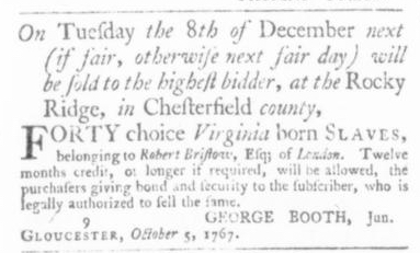 Oct 15 - Virginia Gazette Slavery 5
