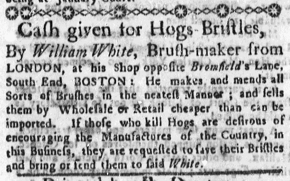 Oct 18 - 10:15:1767 Massachusetts Gazette