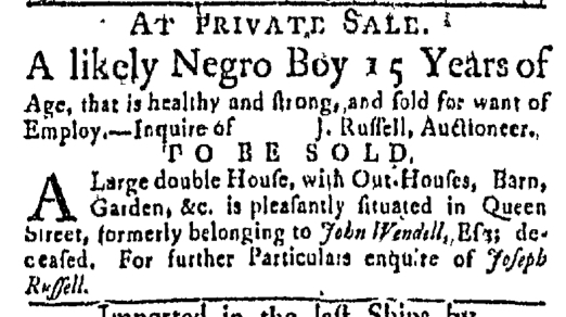 Oct 19 - Boston Post-Boy Slavery 1