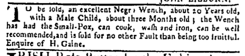 Dec 21 - New-York Mercury Slavery 1