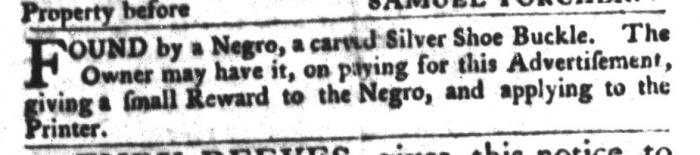 Dec 22 - South-Carolina Gazette and Country Journal Slavery 11