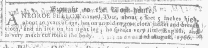 Dec 23 - Georgia Gazette Slavery 8