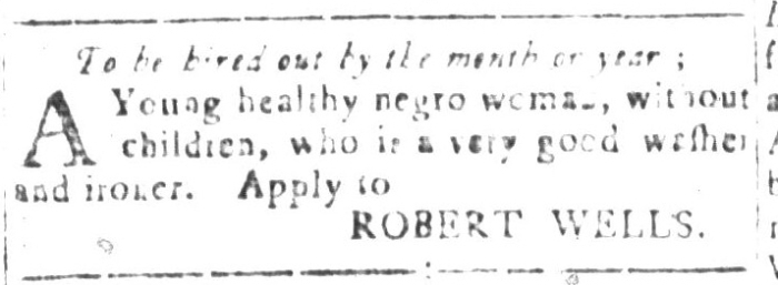 Dec 25 - South-Carolina and American General Gazette Slavery 11