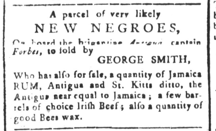 Dec 25 - South-Carolina and American General Gazette Slavery 3