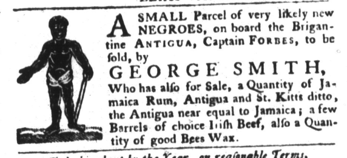 Dec 29 - South-Carolina Gazette and Country Journal Slavery 1