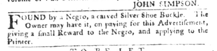 Dec 29 - South-Carolina Gazette and Country Journal Supplement Slavery 5