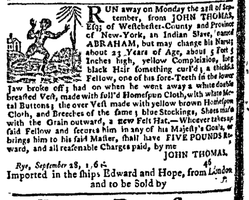 Dec 7 - New-York Gazette Slavery 4